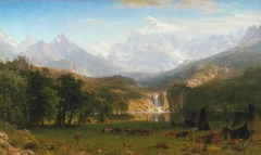 The Rocky Mountains, Lander's Peak (1863)