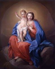 The Virgin, 1738
