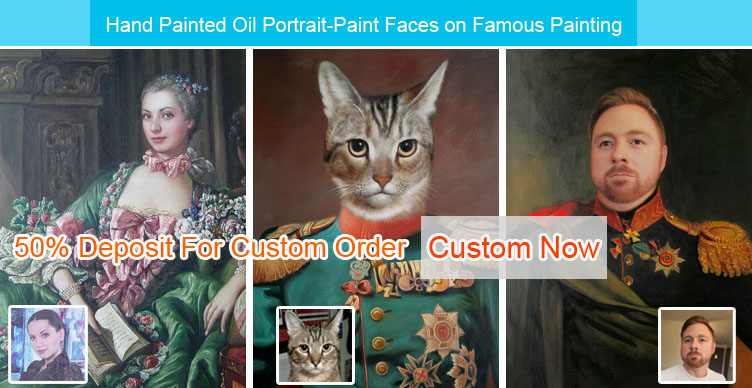Custom oil painting,oil portrait painting,